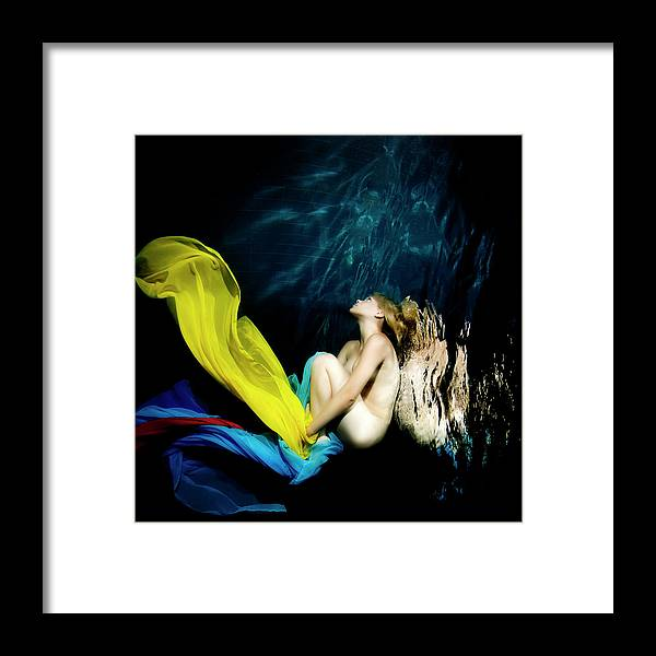 Ballet Dancer Framed Print featuring the photograph Nymph by 1001nights