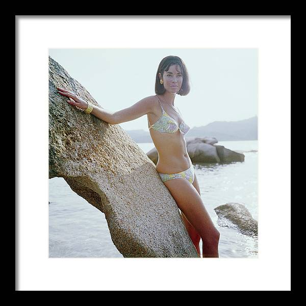 Costa Smeralda Framed Print featuring the photograph Olimpia Hruska by Slim Aarons