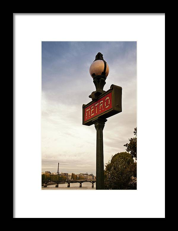 Outdoors Framed Print featuring the photograph Paris, France by Buena Vista Images