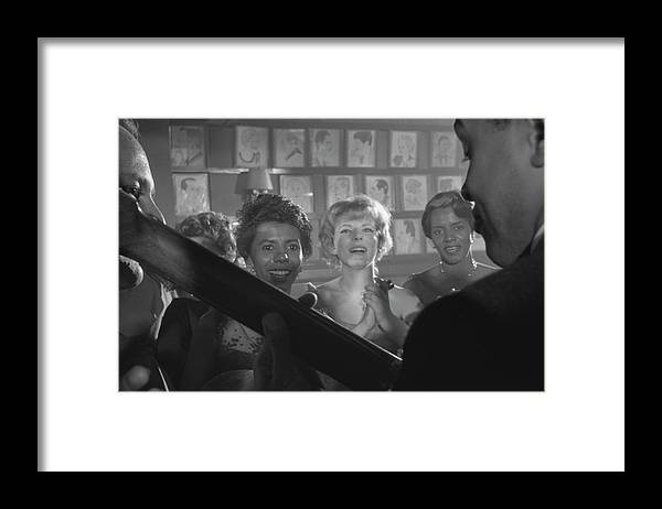 Timeincown Framed Print featuring the photograph Party For Raisin In The Sun by Gordon Parks