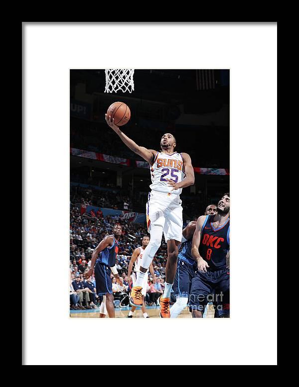 Nba Pro Basketball Framed Print featuring the photograph Phoenix Suns V Oklahoma City Thunder by Zach Beeker