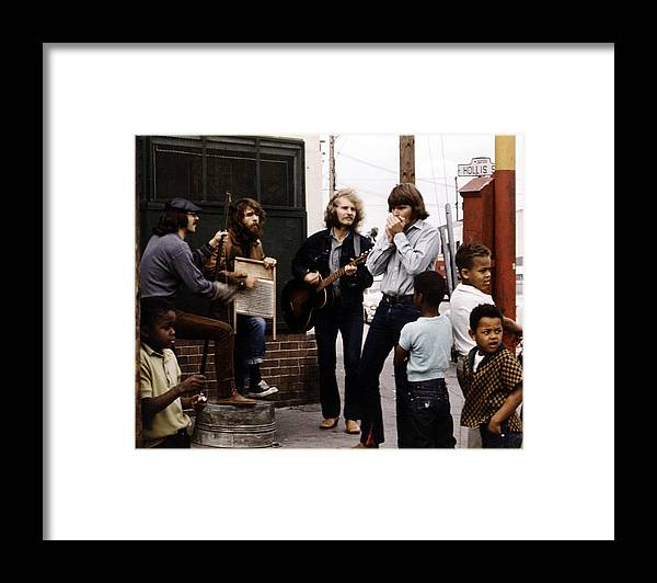 Music Framed Print featuring the photograph Photo Of Creedence Clearwater Revival by Michael Ochs Archives