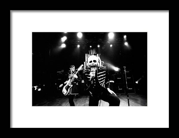 Music Framed Print featuring the photograph Photo Of My Chemical Romance by Stephen Albanese