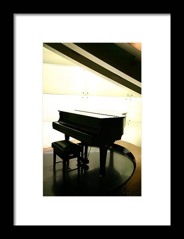 Piano Framed Print featuring the photograph Piano by Peterhung101