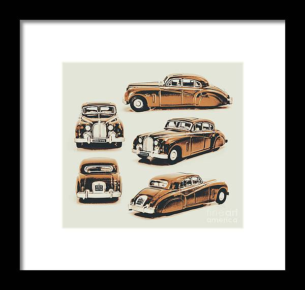 Retro Framed Print featuring the photograph Retro Rides by Jorgo Photography - Wall Art Gallery