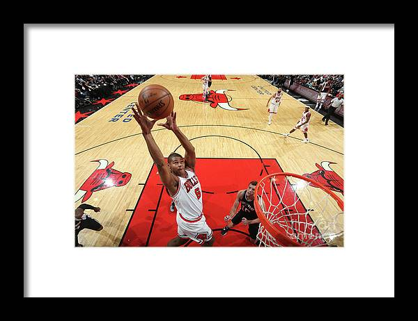 Nba Pro Basketball Framed Print featuring the photograph San Antonio Spurs V Chicago Bulls by Nathaniel S. Butler