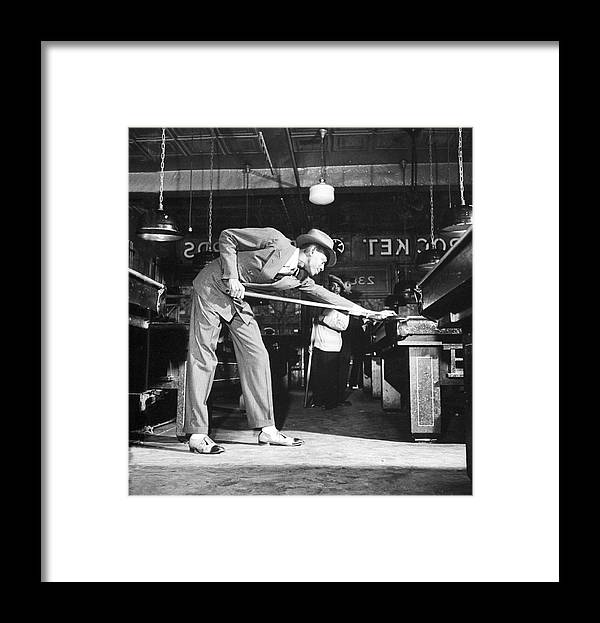 Timeincown Framed Print featuring the photograph Satchel Paige by George Strock