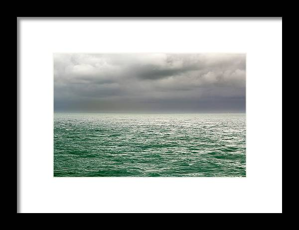 Viewpoint Framed Print featuring the photograph Sea View by Stockcam
