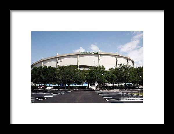 American League Baseball Framed Print featuring the photograph Seattle Mariners V Tampa Bay Rays by J. Meric