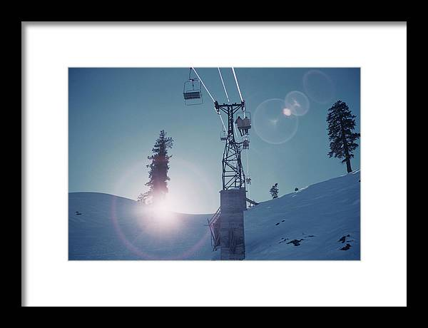 Looking Framed Print featuring the photograph Snowmass Village by Slim Aarons