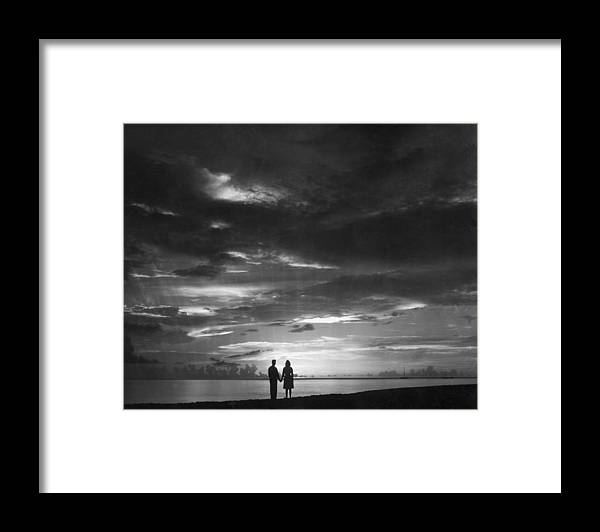 Scenics Framed Print featuring the photograph Sunset Over Barbados by William Bertalan