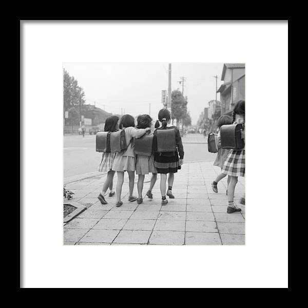 Education Framed Print featuring the photograph Sweet Satchels by Orlando