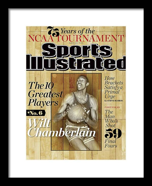 Magazine Cover Framed Print featuring the photograph The 10 Greatest Players 75 Years Of The Tournament Sports Illustrated Cover by Sports Illustrated
