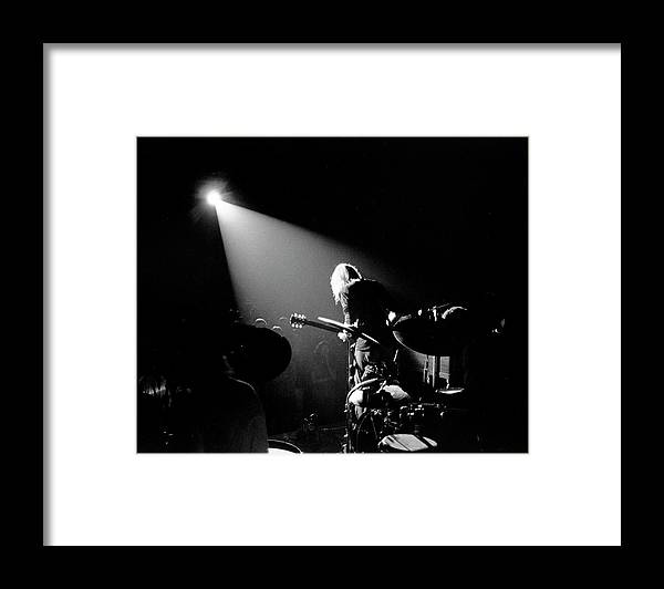 People Framed Print featuring the photograph The Allman Brothers In South Carolina by Michael Ochs Archives