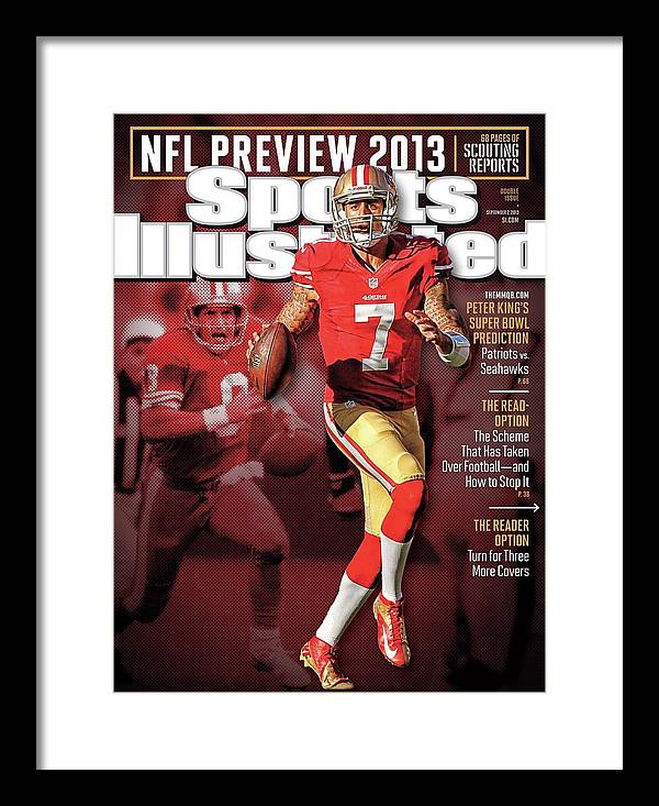 Candlestick Park Framed Print featuring the photograph The New Kings 2013 Nfl Football Preview Issue Sports Illustrated Cover by Sports Illustrated