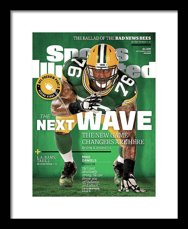 Green Bay Framed Print featuring the photograph The Next Wave The New Game Changers Are Here Sports Illustrated Cover by Sports Illustrated