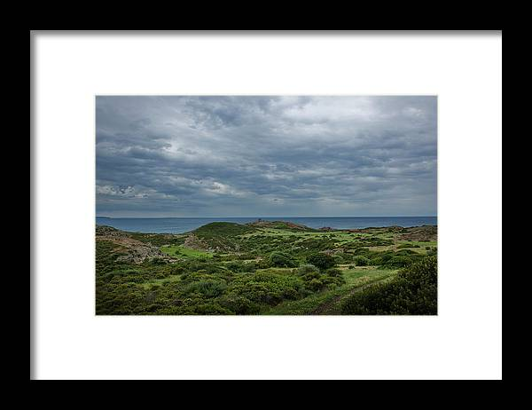 Scenics Framed Print featuring the photograph Torre Argentina Promontory by Maremagnum