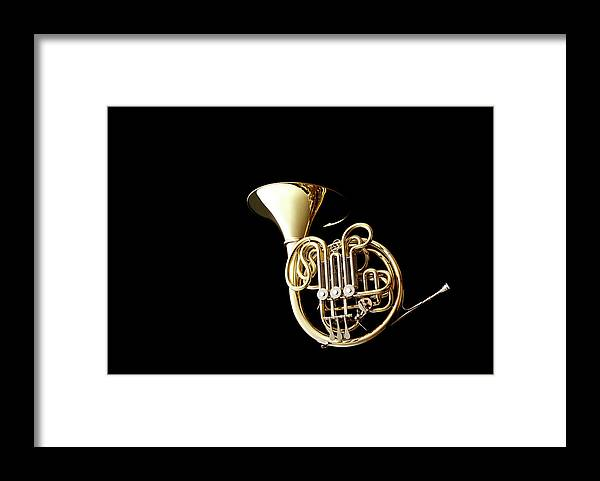 French Horn Framed Print featuring the photograph Wind Instrument by Yuji Kotani