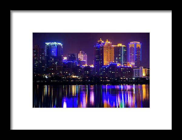 Chinese Culture Framed Print featuring the photograph Xiamen,fujian by Best View Stock