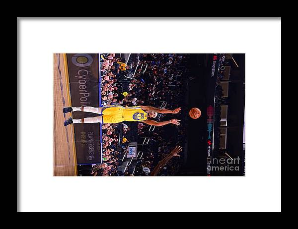 San Francisco Framed Print featuring the photograph Charlotte Hornets V Golden State by Noah Graham