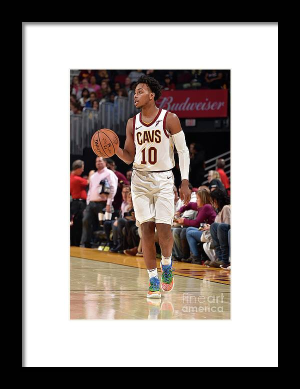 Nba Pro Basketball Framed Print featuring the photograph Chicago Bulls V Cleveland Cavaliers by David Liam Kyle
