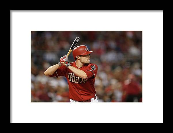 American League Baseball Framed Print featuring the photograph New York Mets V Arizona Diamondbacks by Christian Petersen