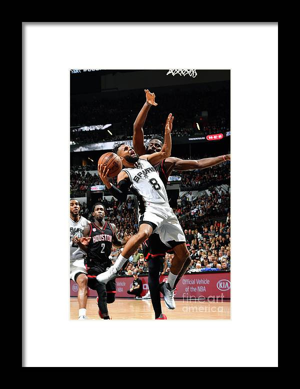 Playoffs Framed Print featuring the photograph Houston Rockets V San Antonio Spurs - by Jesse D. Garrabrant
