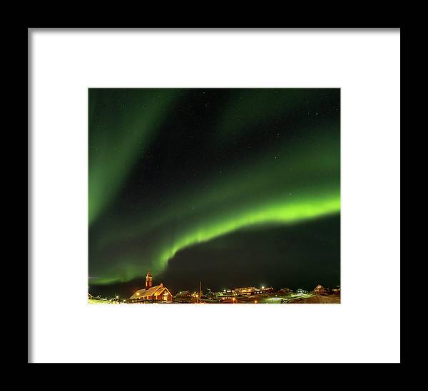 Arctic Framed Print featuring the photograph Ilulissat Icefjord Also Called Kangia by Martin Zwick