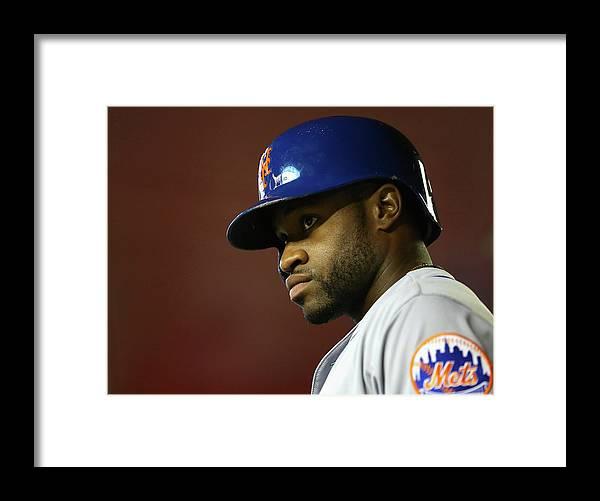National League Baseball Framed Print featuring the photograph New York Mets V Arizona Diamondbacks by Christian Petersen