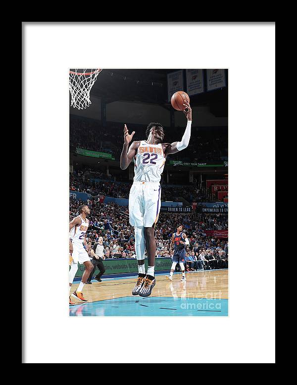 Nba Pro Basketball Framed Print featuring the photograph Phoenix Suns V Oklahoma City Thunder by Joe Murphy