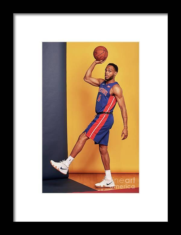 Nba Pro Basketball Framed Print featuring the photograph 2018 Nba Rookie Photo Shoot by Jennifer Pottheiser