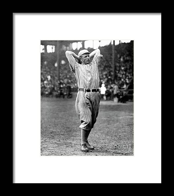Baseball Pitcher Framed Print featuring the photograph National Baseball Hall Of Fame Library by National Baseball Hall Of Fame Library