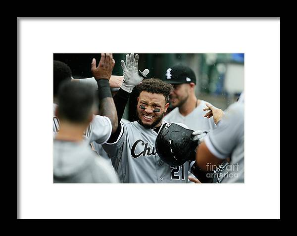 People Framed Print featuring the photograph Chicago White Sox V Detroit Tigers - 12 by Duane Burleson