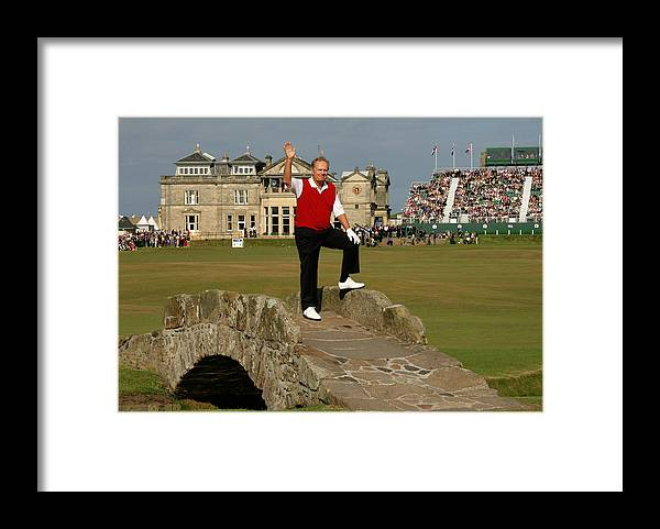 Crowd Framed Print featuring the photograph 134th Open Championships by David Cannon