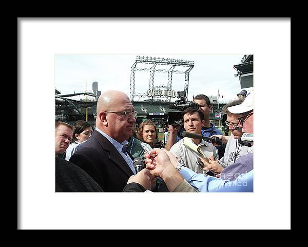 People Framed Print featuring the photograph Minnesota Twins V Seattle Mariners by Otto Greule Jr