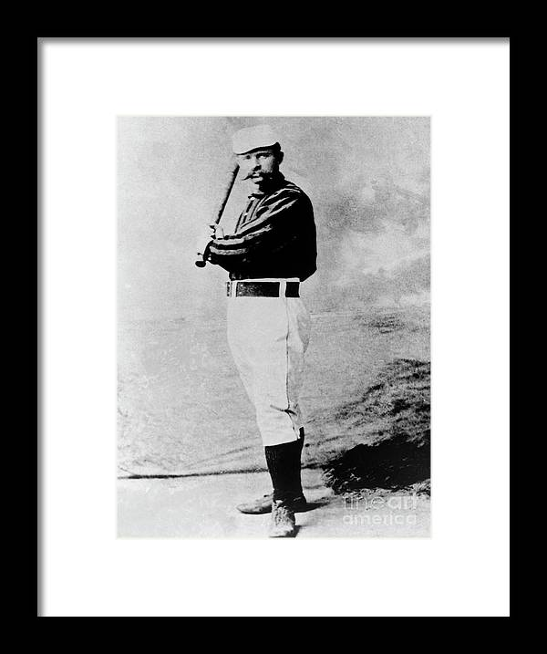 1880-1889 Framed Print featuring the photograph National Baseball Hall Of Fame Library by National Baseball Hall Of Fame Library