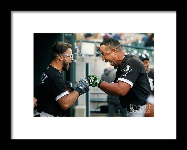 American League Baseball Framed Print featuring the photograph Chicago White Sox V Detroit Tigers by Duane Burleson