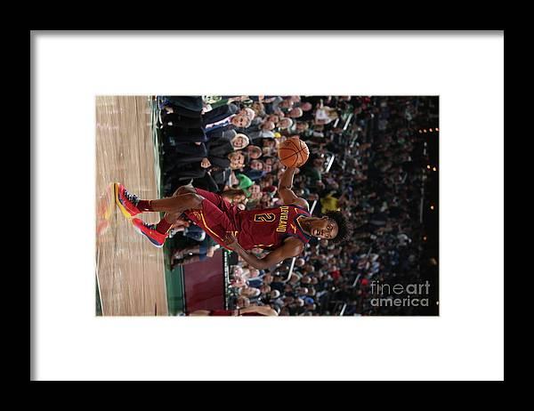 Nba Pro Basketball Framed Print featuring the photograph Cleveland Cavaliers V Milwaukee Bucks by Gary Dineen