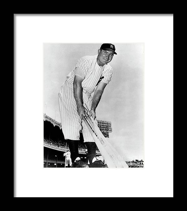 1940-1949 Framed Print featuring the photograph National Baseball Hall Of Fame Library by National Baseball Hall Of Fame Library