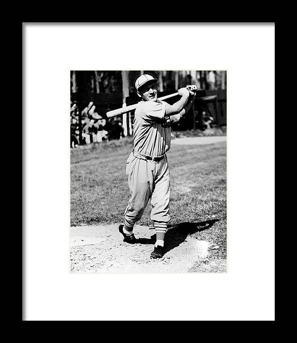 1930-1939 Framed Print featuring the photograph National Baseball Hall Of Fame Library by National Baseball Hall Of Fame Library