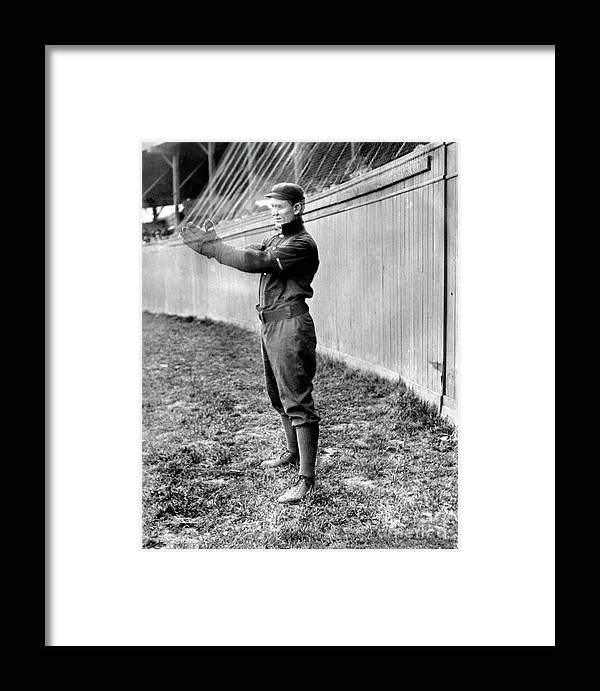 American League Baseball Framed Print featuring the photograph National Baseball Hall Of Fame Library by National Baseball Hall Of Fame Library