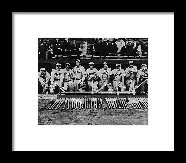 St. Louis Cardinals Framed Print featuring the photograph 1934 St. Louis Cardinals 1934 by Fpg