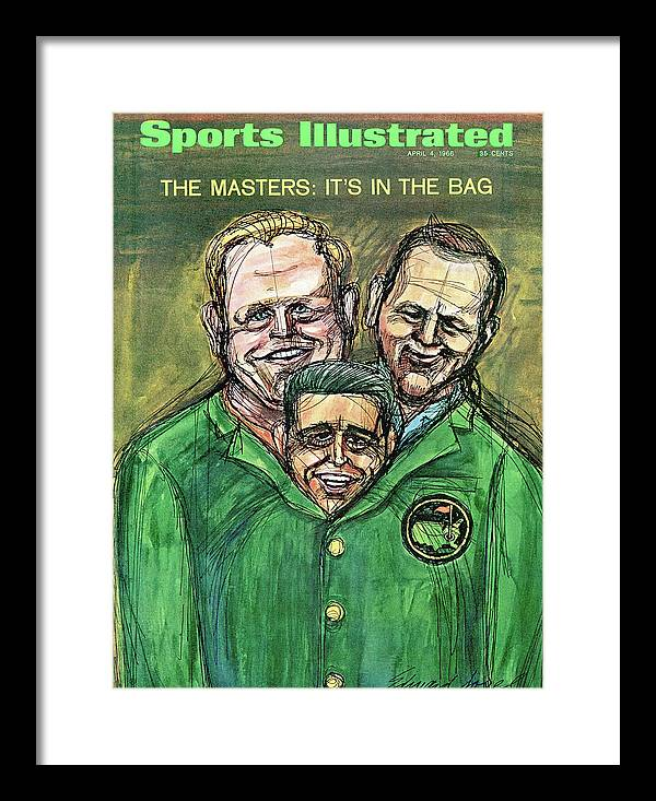 Magazine Cover Framed Print featuring the photograph 1966 Masters Tournament Preview Sports Illustrated Cover by Sports Illustrated