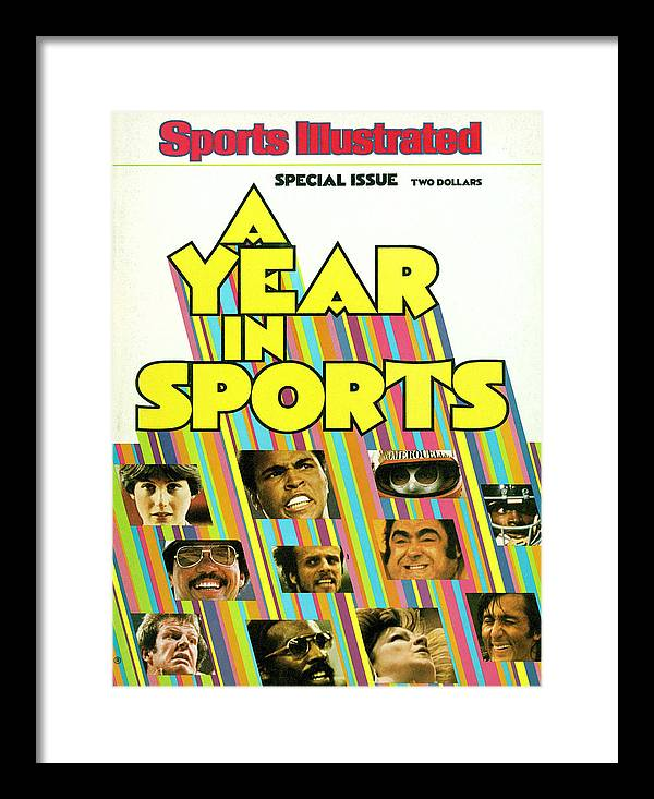 The Olympic Games Framed Print featuring the photograph 1976 Year In Sports Issue Sports Illustrated Cover by Sports Illustrated