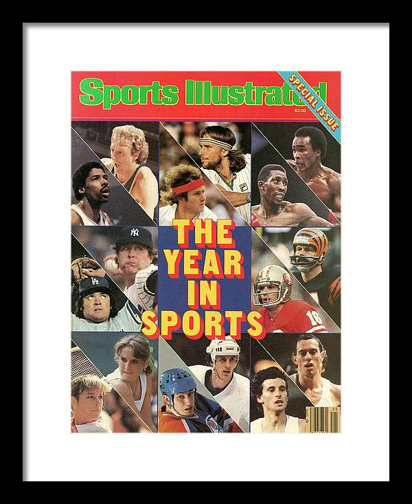 Playoffs Framed Print featuring the photograph 1981 Year In Sports Issue Sports Illustrated Cover by Sports Illustrated