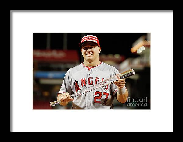 Great American Ball Park Framed Print featuring the photograph 86th Mlb All-star Game 2 by Rob Carr