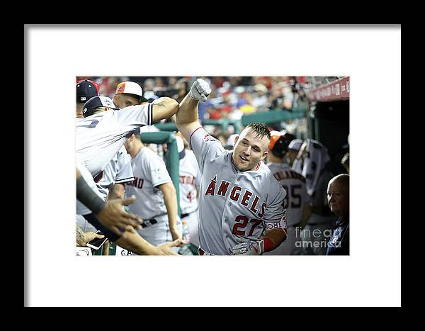 People Framed Print featuring the photograph 89th Mlb All-star Game, Presented By 2 by Rob Carr