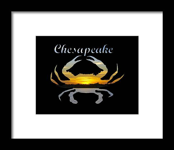 2d Framed Print featuring the photograph Chesapeake by Brian Wallace