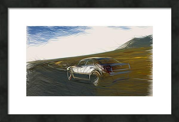 Chrysler 300C SRT8 Draw by CarsToon Concept