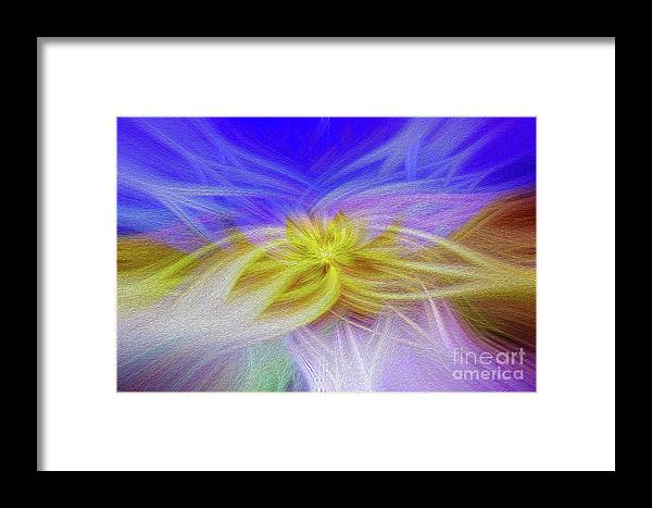 Art Print Framed Print featuring the digital art Convergence 3 by Kenneth Montgomery